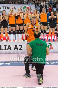 Premiazioni Coppa Italia A2F 2016 PREMIAZIONI FINALE A2 Coppa Italia 2016.  Pala De Andrè Ravenna 20.03.2016. FOTO: Michele Benda © 2016 Volleyfoto.it, all rights reserved [id:20160320.MB2_5961]