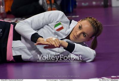 Pomì Casalmaggiore - Foppapedretti Bergamo SemiFinale 38ª Coppa Italia 2016 Serie A1F.  Pala De Andrè Ravenna 19.03.2016 FOTO: Daniele Ricci © 2016 Volleyfoto.it, all rights reserved [id:20160319.DSC_1740]