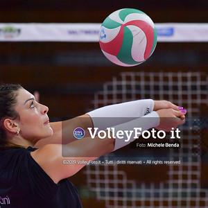 MONTIBELLER Rosamaria durante Bartoccini Fortinfissi Perugia, allenamento congiunto, Megabox Battistelli Vallefoglia IT, 18 settembre 2019. Foto: BENDA per VolleyFoto.it [riferimento file: 2019-09-18/ND5_1242]
