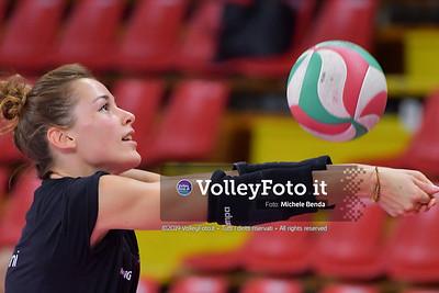 TABORELLI Veronica durante Bartoccini Fortinfissi Perugia, allenamento congiunto, Megabox Battistelli Vallefoglia IT, 18 settembre 2019. Foto: BENDA per VolleyFoto.it [riferimento file: 2019-09-18/ND5_1290]