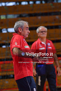 Bartoccini Fortinfissi Perugia, allenamento congiunto, Megabox Battistelli Vallefoglia IT, 18 settembre 2019. Foto: BENDA per VolleyFoto.it [riferimento file: 2019-09-18/ND5_1314]