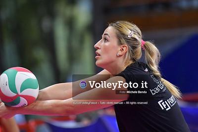 CASILLO Luisa durante Bartoccini Fortinfissi Perugia, allenamento congiunto, Megabox Battistelli Vallefoglia IT, 18 settembre 2019. Foto: BENDA per VolleyFoto.it [riferimento file: 2019-09-18/ND5_1267]