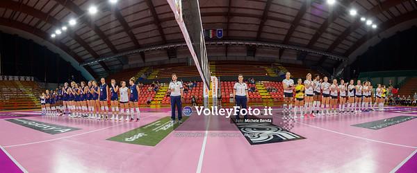 """Bartoccini Fortinfissi Perugia vs Savino del Bene Scandicci, Memorial """"Iacone"""" IT, 28 settembre 2019. Foto: BENDA per VolleyFoto.it [riferimento file: 2019-09-28/_NZ64316-Pano]"""