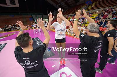 """Bartoccini Fortinfissi Perugia vs Savino del Bene Scandicci, Memorial """"Iacone"""" IT, 28 settembre 2019. Foto: BENDA per VolleyFoto.it [riferimento file: 2019-09-28/_NZ64355]"""