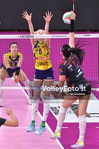 Bartoccini Fortinfissi Perugia vs Imoco Volley Conegliano, 9ª giornata Campionato Italiano di Pallavolo Femminile Serie A1 presso PalaBarton Perugia IT, 12 dicembre 2019. Foto: Michele Benda [riferimento file: 2019-12-12/ND5_1529]