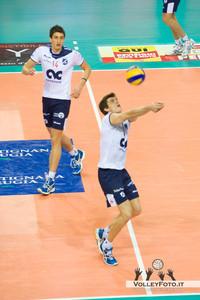 Sir Safety PERUGIA vs CMC RAVENNA 9ª Giornata andata, Campionato Italiano di Volley Maschile, Serie A1 - 2012/13