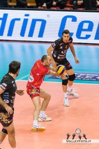 Andrea Giovi (Perugia) Sir Safety PERUGIA vs CMC RAVENNA  9ª Giornata andata, Campionato Italiano di Volley Maschile, Serie A1 - 2012/13