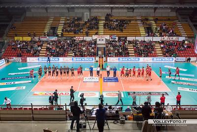 Le squadre si presentano SIR Safety Perugia - Copra Elior Piacenza >  8ª Giornata di ritorno, Campionato Italiano di Volley Maschile, Serie A1, 2012/13