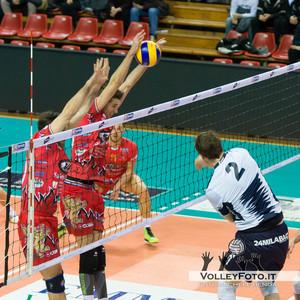 Sir Safety Perugia - Andreoli Latina 1ª giornata di ritorno, Campionato Italiano di Volley Maschile Serie A1 2012/13