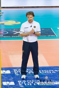 Daniele Rapisarda, secondo arbitro Sir Safety Perugia - Andreoli Latina 1ª giornata di ritorno, Campionato Italiano di Volley Maschile Serie A1 2012/13