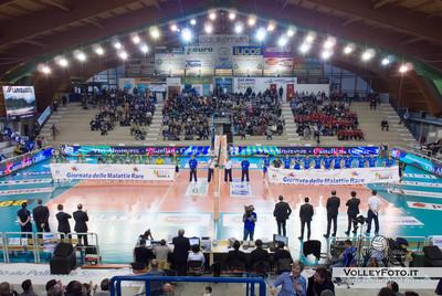 Presentazione squadre Vivi Altotevere San Giustino - Bre Banca Lannutti Cuneo > 9ª Giornata di ritorno, Campionato Italiano di Volley Maschile, Serie A1, 2012/13