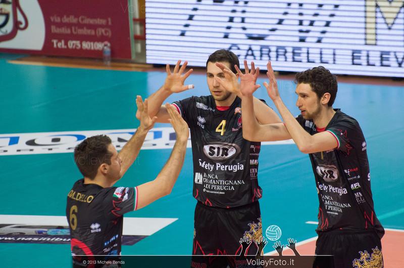 Perugia starting six