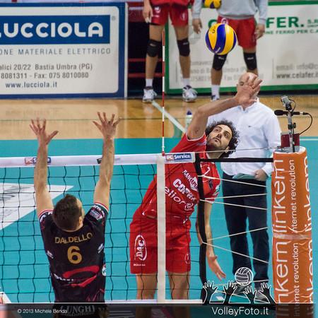 FEI Alessandro (Piacenza) contro Daldello Nicola (Perugia)