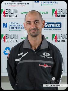 "2° Allenatore:  Carmine Fontana ""WATSON"" SIR Safety Perugia [A1/M] 2012/13"
