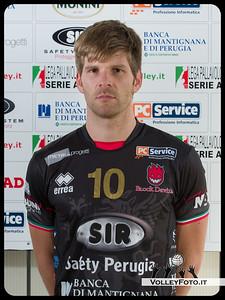 "10. Sebastian Schwarz ""BASSI"" SIR Safety Perugia [A1/M] 2012/13"