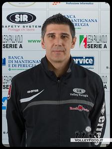 "1° Allenatore: Slobodan Kovac ""BOBAN"" SIR Safety Perugia [A1/M] 2012/13"