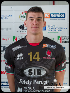 "14. Thomas Edgar ""KILLER"" SIR Safety Perugia [A1/M] 2012/13"