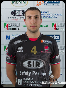 "4. Nemanja Petric ""DRAGO"" SIR Safety Perugia [A1/M] 2012/13"