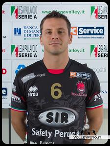 "6. Nicola Daldello ""LUPIN"" SIR Safety Perugia [A1/M] 2012/13"