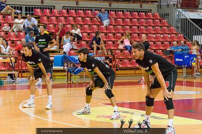 la linea difensiva: Goran VUJEVIC, Fabio FANULI, Dore DELLA LUNGA