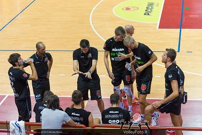 SIR Safety Perugia time out - Slobodan KOVAC