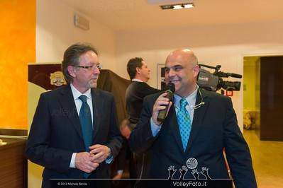 Marco Cruciani intervista il Presidente del Comitato Provinciale Fipav Luigi Tardioli