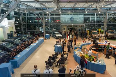 2013.10.14 Presentazione aperitivo presso Autocentro Giustozzi: SIR Safety Banca di Mantignana Perugia (id:_MBD0332)