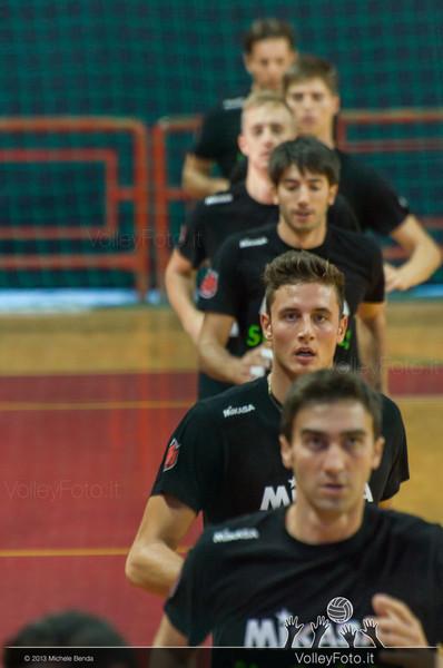 Giuseppe DELLA CORTE e i suoi compagni in allenamento