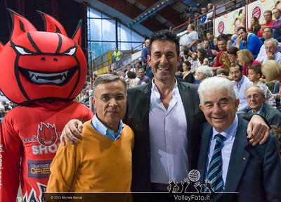 il Presidente Gino Sirci con il Prefetto e Antonio Marinelli