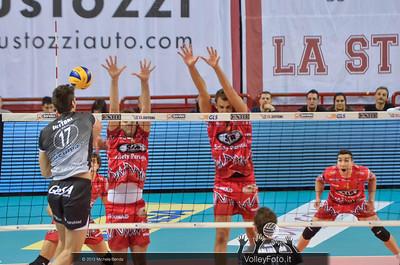 Luca VETTORI, attacco, Adriano PAOLUCCI, Rocco BARONE, muro