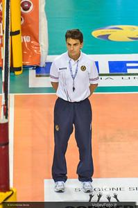 Armando Simbari, secondo arbitro