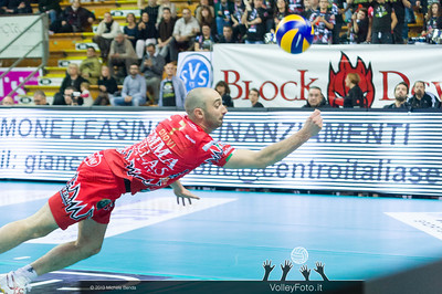 Andrea GIOVI, difesa acrobatica