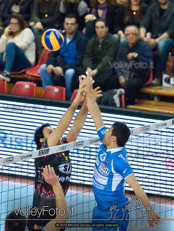 SIR Safety Perugia - Bre Lannutti Cuneo | 12ª giornata Campionato Italiano di Pallavolo Maschile, Serie A1 [2013/14] (id: 2014.01.12.MBX_1827)