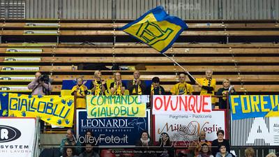 il gruppo di tifosi Veronesi