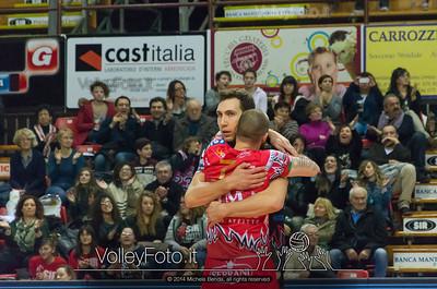 abbraccio, Nemanja PETRIC, Andrea GIOVI