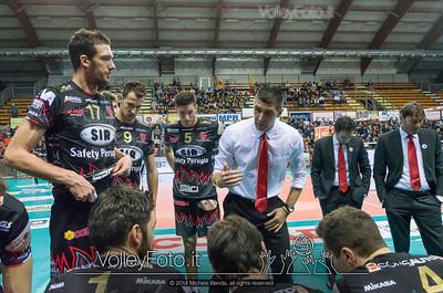 Slobodan KOVAC, time out, SIR Safety Perugia