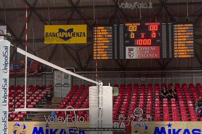 PalaBanca Piacenza è pronto per la Gara 1 di Semifinale, #ChePlayOff