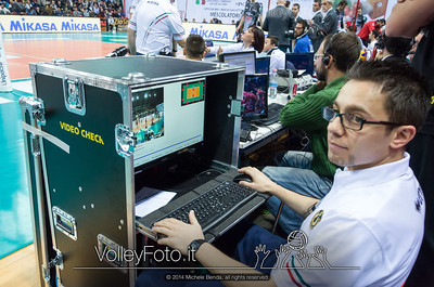 video check, Felice Mangino
