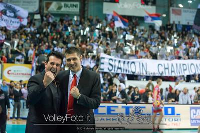 Gino Sirci, Slobodan KOVAC, esultano per la conquista dell'Europa