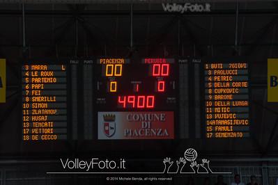 Tutto pronto al PalaBanca di Piacenza per la Gara 5
