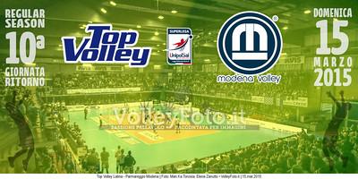 Top Volley Latina - Parmareggio Modena | 10ª ritorno