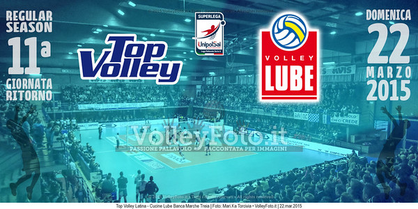 Top Volley Latina, Cucine Lube Banca Marche Treia