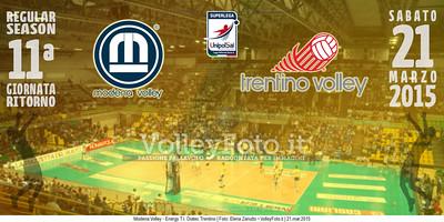 Modena Volley - Energy T.I. Diatec Trentino | 11ª ritorno