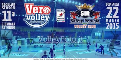 Vero Volley Monza - Sir Safety Perugia | 11ª Ritorno