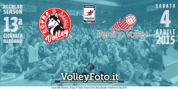 Copra Volley Piacenza, Energy T.I. Diatec Trentino