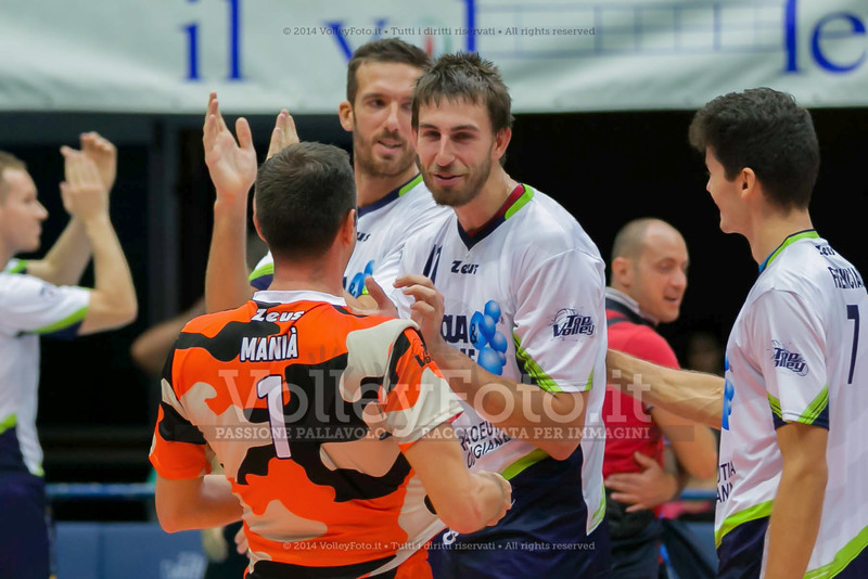 Top Volley Latina, esulta per la vittoria