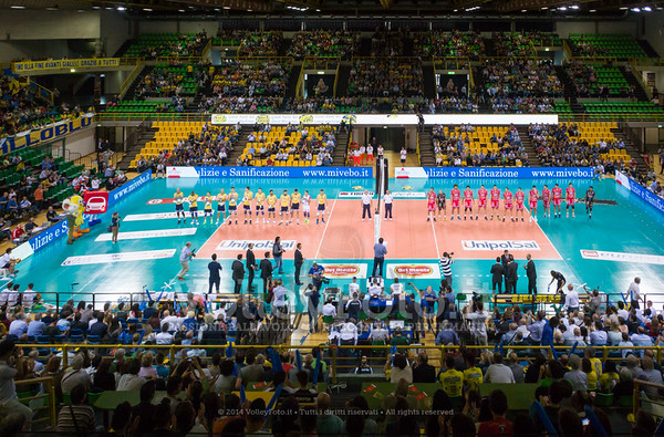 Modena Volley - Sir Safety Perugia | 1ª giornata