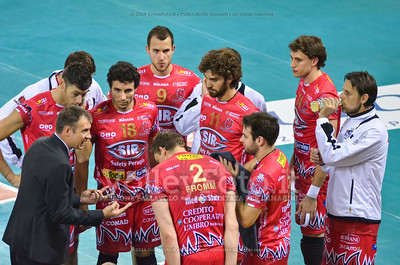 time out, Sir Safety Perugia