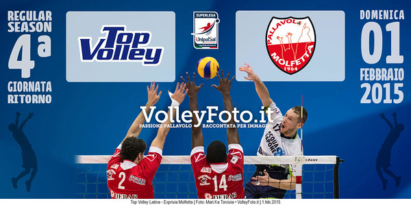 Top Volley Latina - Exprivia Molfetta