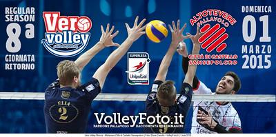 Vero Volley Monza, Altotevere Città di Castello Sansepolcro